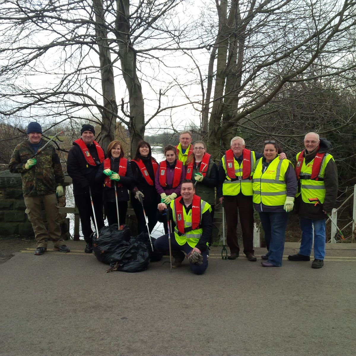 The 'Mexborough Canal Clean-up Event' on Sat 28th Feb was a huge success!