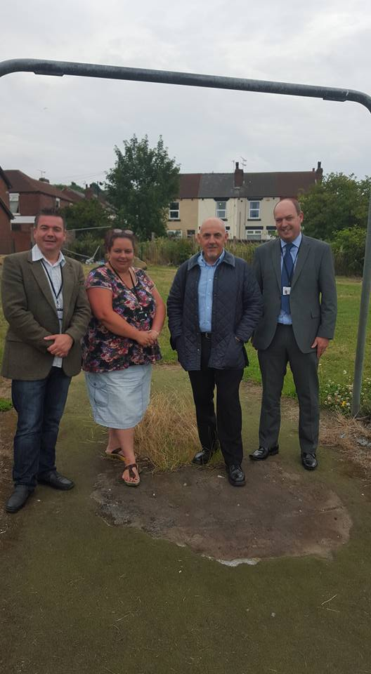 Working With Residents To Improve Park