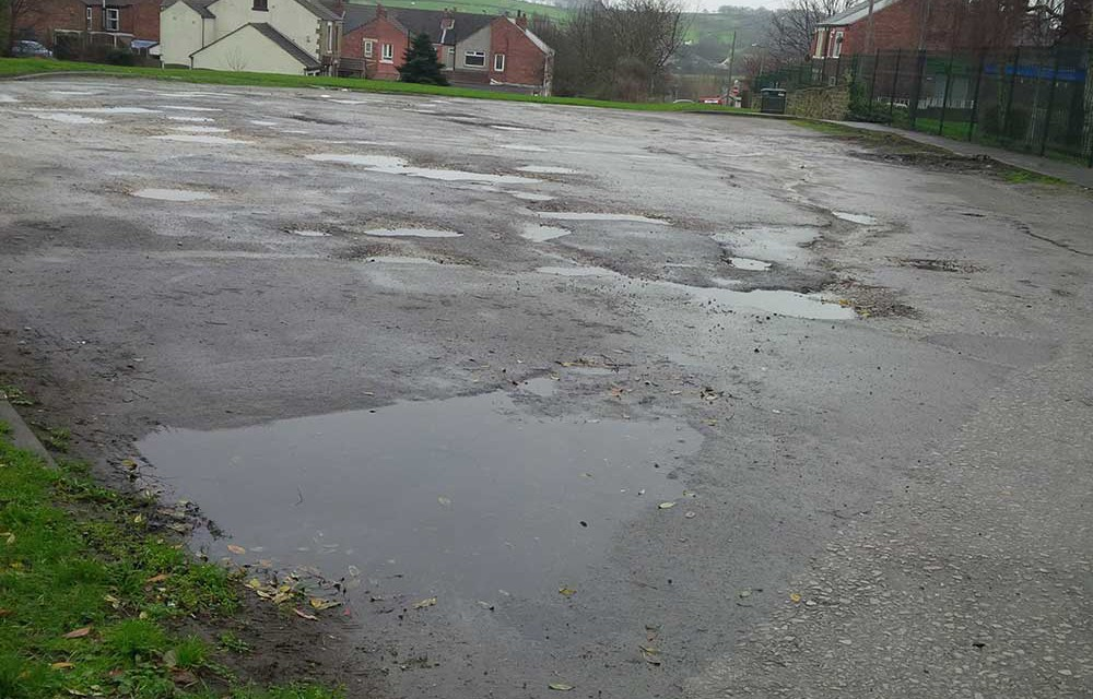 Harlington Road Car Park – rear of Medical Centre