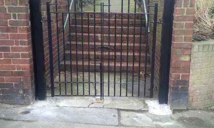 New Gates Installed at Clayton Park