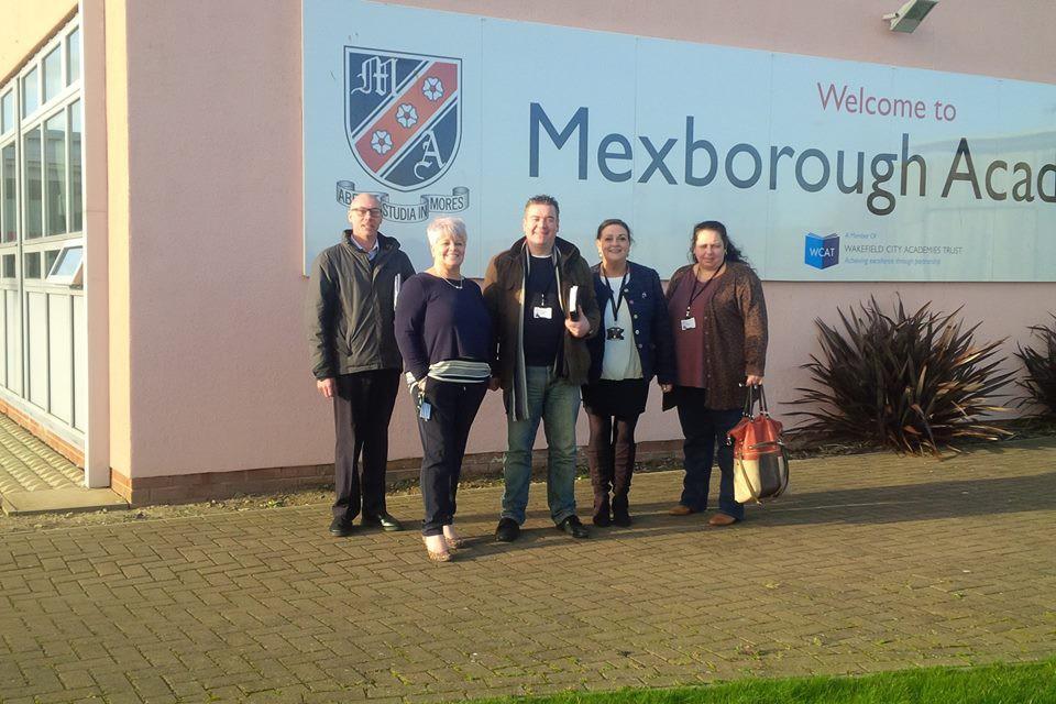 Visiting Mexborough Academy