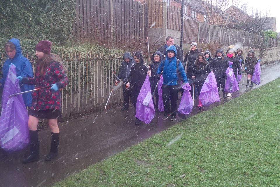 Cleanup for The Queen 4th March 2016
