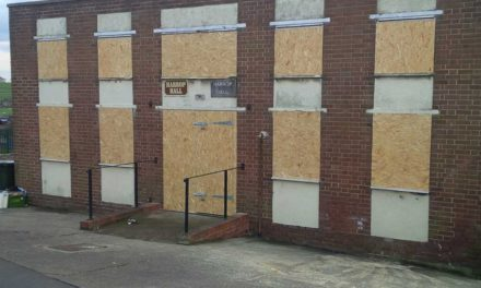 Harrop Hall in Mexborough now safe