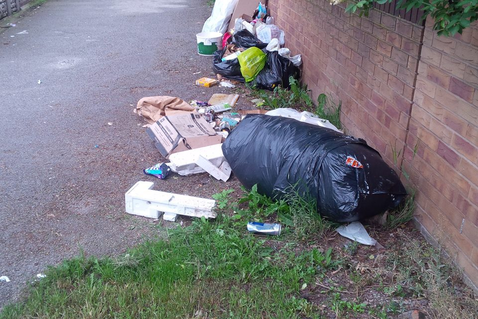Fly-tipping tackled in Mexborough