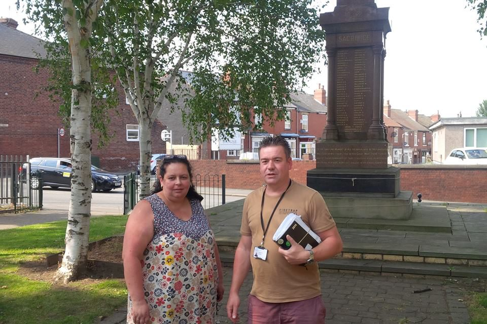 Working with DMBC to improve the Castle Hills area