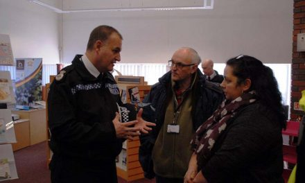Pleasure to meet new South Yorkshire Police Chief Constable