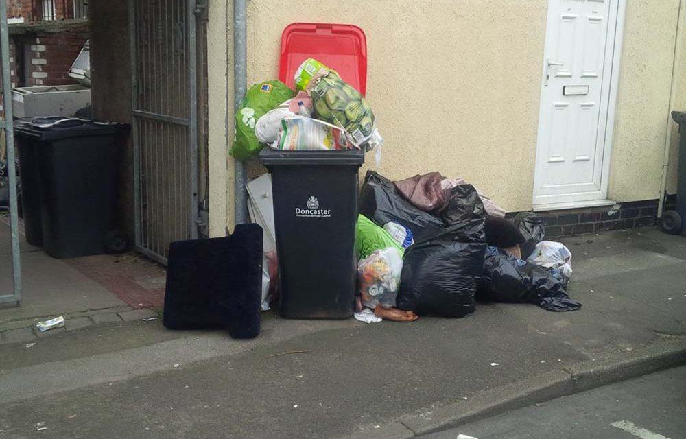 Mexborough First Cllrs demand black bins emptied ASAP