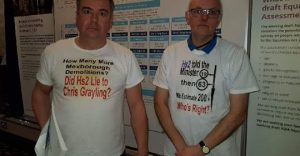 Mexborough First Councillors Sean Gibbons Andy Pickering